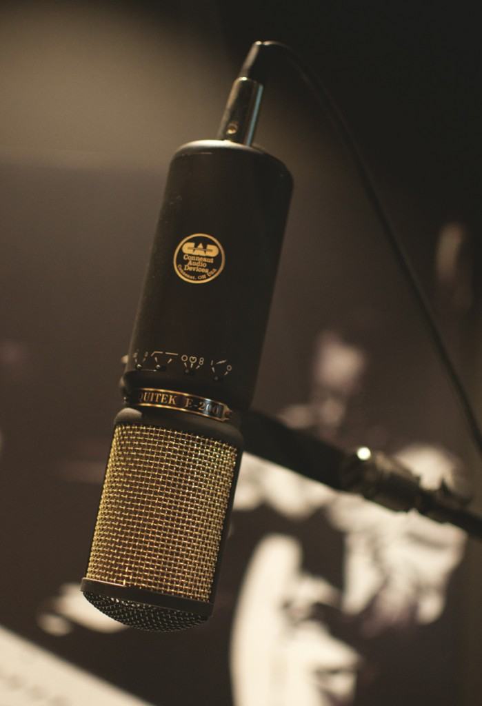 03_Nashville_Johnny Cash Museum_Vintage Microphone_Photo by Cheyenne Rae