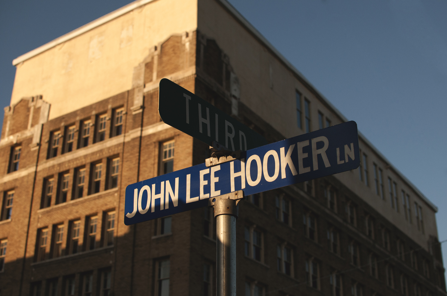 John Lee Hooker Sign_Blues Pilgrimage in Clarksdale_Mississippi_April 2014_Photo by Cheyenne Rae