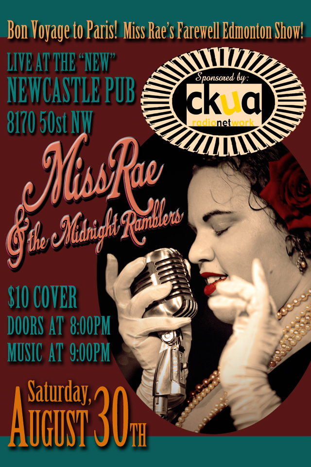 Miss Rae & the Midnight Ramblers_Bon Voyage_Edmonton on August 30_2014_Newcastle Pub