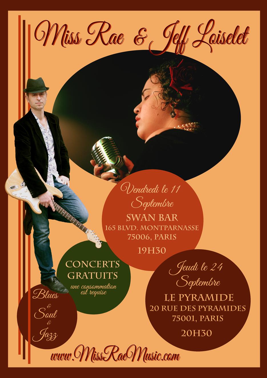 September Gig Poster_Miss Rae & Jeff Loiselet_WEB