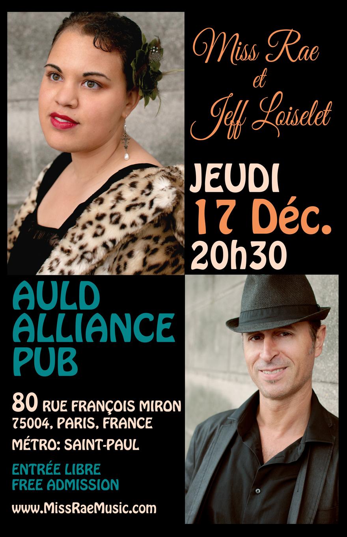 Auld Alliance_17 Decembre_PARIS_Invitation