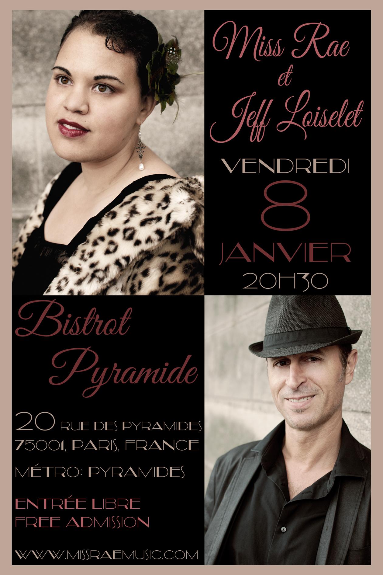 Miss Rae & Jeff Loiselet au Pyramide_08 Janvier_PARIS_WEB