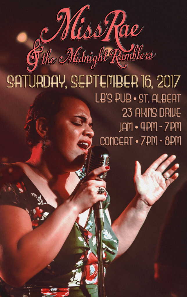 Miss Rae_LBs Pub Poster_Sept 16th 2017